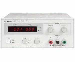 HP/AGILENT E3630A POWER SUPPLY, TRPL. OUTPUT, 0-6 V/2.5A, +20V/.5 A,